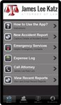 "Get the FREE ""James Lee Katz Accident App"" -- Your Best Friend After an Accident!"