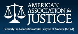 Logo Recognizing Law Offices of James Lee Katz, P.A.'s affiliation with AAJ